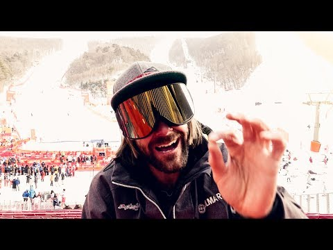 The BEST Event of the OLYMPICS, Mens Giant Slalom    VLOG 9