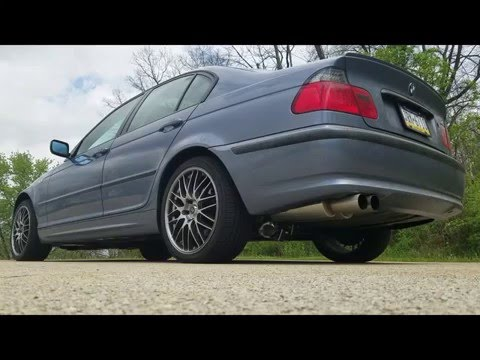 BMW e46 3 Series Cutouts - Straight Pipe - Launch and Rev!