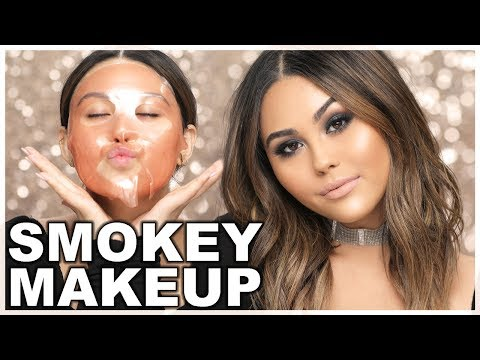My Fave Smokey Eye Makeup Tutorial 2018 | Roxette Arisa