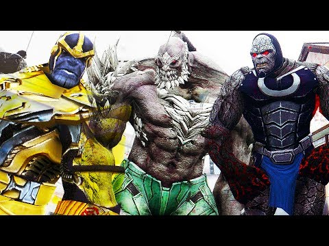 Darkseid VS Doomsday VS Thanos - | EPIC BATTLE