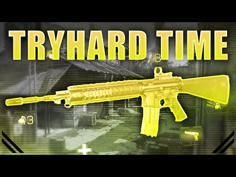 COD MWR Tryhard Time - M16 - The God Weapon