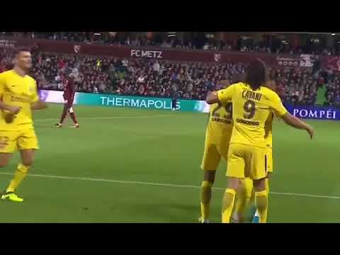Metz vs PSG 1 5 — Highlights & All Goals — 08 09 2017