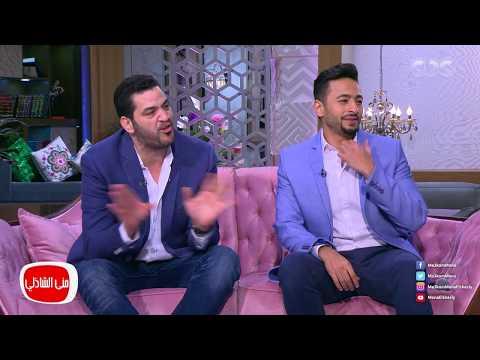 منى الشاذلي لحمادة هلال وطاهر أبو ليلية: أخاف على الفن منكما