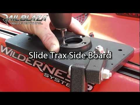 Fitting Starport to Harmony Slide Trax Side Board