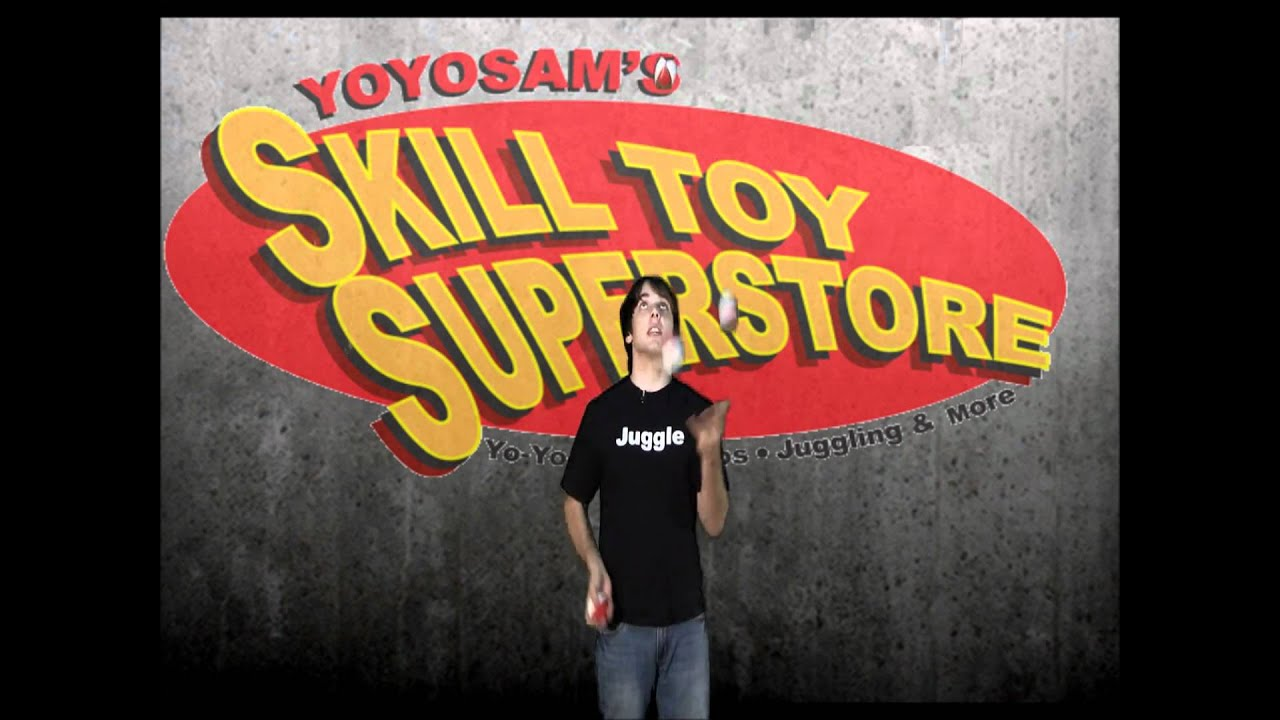 YoYoSam Tutorial: How To Juggle 5 Balls with Josh Horton