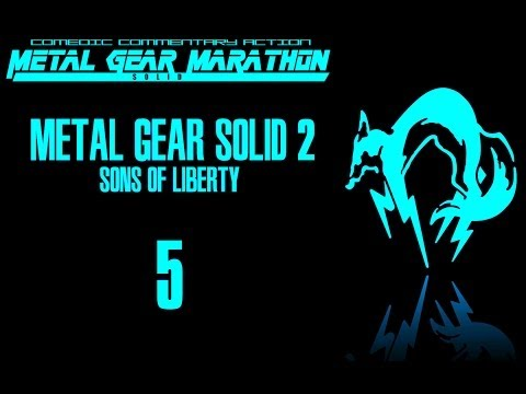MGM: Metal Gear Solid 2: Sons of Liberty - Episode 5: Cartwheeling sissynugget