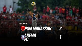 Download Video [Pekan 25] Cuplikan Pertandingan PSM Makassar vs Arema FC, 14 Oktober 2018 MP3 3GP MP4