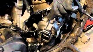 10. Yamaha Big Bear 350 Engine Removal