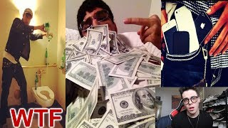 REACTING TO THE CRINGIEST RICH KID EVER!!