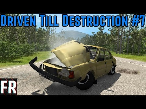 BeamNG Drive - Driven Till Destruction - The Endurodrome #7