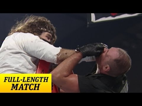 mankind - Nov. 30, 1998 - The Corporation stacks the deck against Mankind as he defends his Hardcore Championship against Big Bossman.