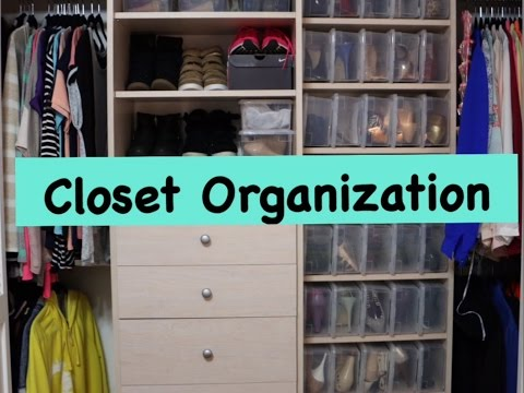 how to organise your wardrobe youtube 2