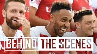Video Behind the scenes at Arsenal's 2018/19 photocall MP3, 3GP, MP4, WEBM, AVI, FLV Desember 2018