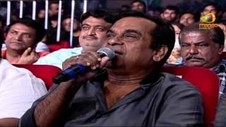 Brahmanandam Funny Speech | Attarintiki Daredi Audio Launch HD | Pawan Kalyan, Samantha, DSP