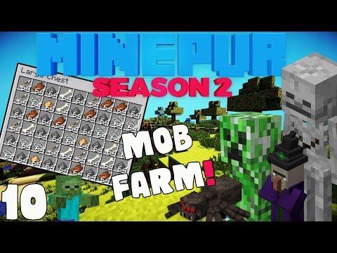 """MINEPUR S2 : """"Mob Farm"""" Ep 10 wt Akan22"""