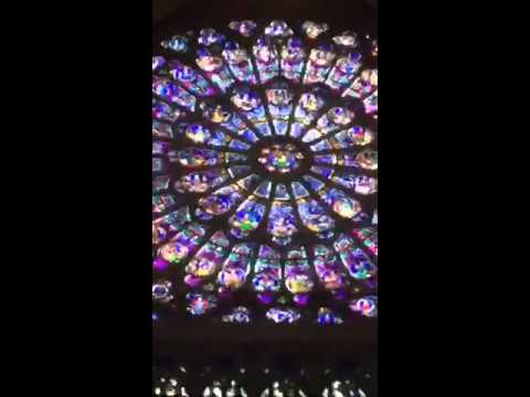 Notre Dame Stained Glass Windows & Gothic Architecture Part 2
