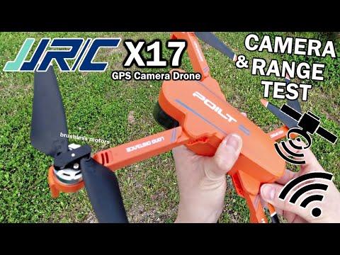 JJRC X17 GPS Drone, 2-Axis Gimbal (Camera & Range Test)