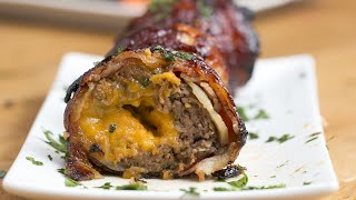 BBQ Bacon Onion–Wrapped Meatballs by Tasty