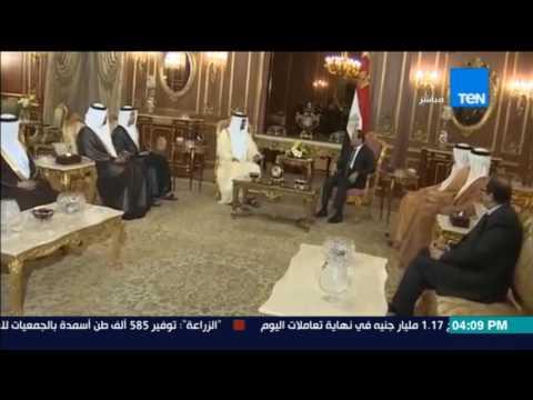 تقرير وإنفوجراف عن العلاقات المصرية الإماراتية على هامش زيارة السيسي لأبو ظ