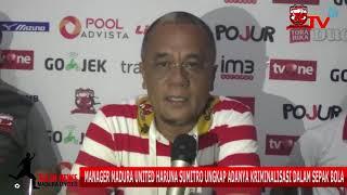 Video Haruna Sumitro Ungkap Adanya Kriminalisasi Sepak Bola MP3, 3GP, MP4, WEBM, AVI, FLV November 2017