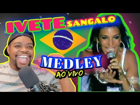 3 Songs Ivete Sangalo - Medley   REACTION   Eva / Alô Paixão / Beleza Rara   Maikuniverse