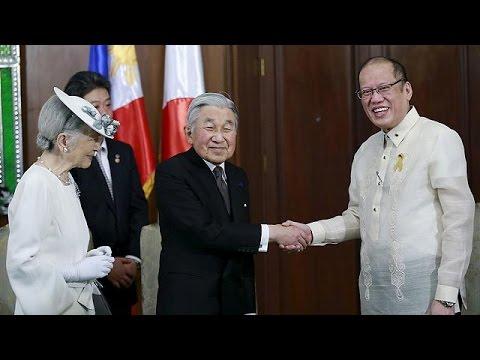 Επίσκεψη του αυτοκρατορικού ζεύγους της Ιαπωνίας στις Φιλιππίνες