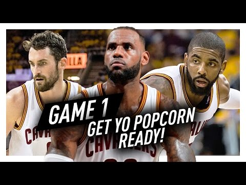 LeBron James, Kyrie Irving & Kevin Love BIG 3 Game 1 Highlights vs Raptors 2017 Playoffs - EPIC!