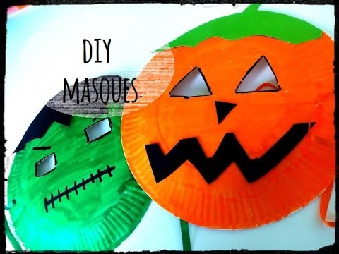 diy halloween activit� masque