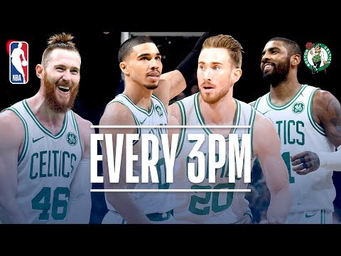 Video: Celtics Set A Franchise Record With 24 Threes | November 1, 2018