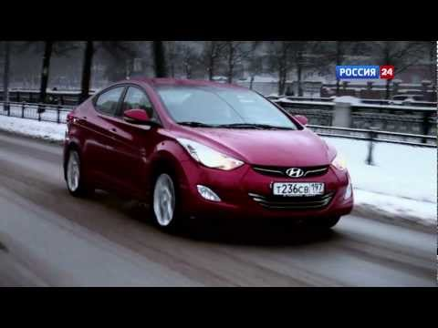 Hyundai Elantra Тест-драйв Hyundai Elantra 2012 // АвтоВести 42