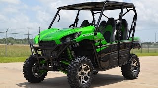 4. $16,999:  2016 Kawasaki Teryx4 LE Candy Lime Green  Overview and Review!