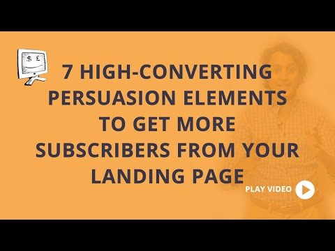 Does your landing page have these 7 conversion elements?