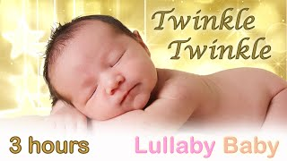 Video ✰ 3 HOURS ✰ Twinkle Twinkle Little Star ♫ MUSIC BOX ✰ Lullaby for babies to go to sleep MP3, 3GP, MP4, WEBM, AVI, FLV Agustus 2019
