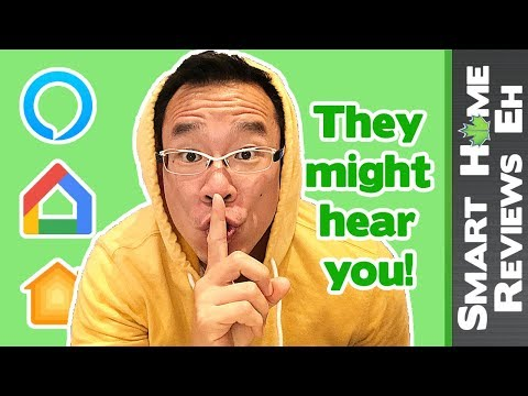 SHHHHH! - Data Privacy/Security - Part 3 - Apple vs. Google vs. Amazon Smart Home Comparison