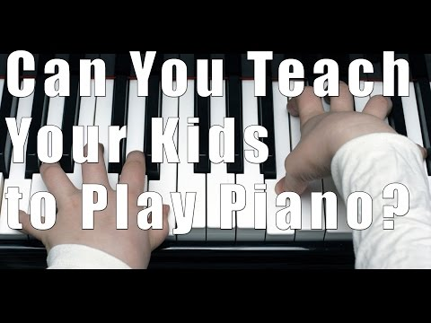 Can You Teach Your Own Children How to Play Music?