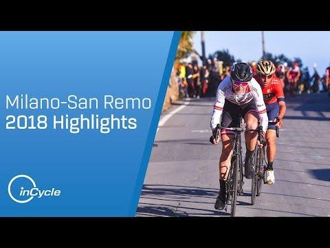 Milan-San Remo 2018: Highlights (видео)