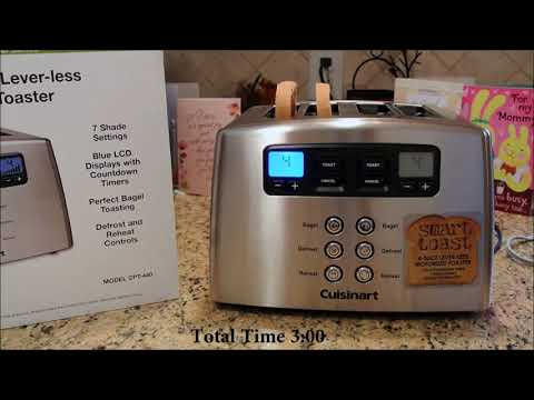 Video cuisinart cpt-440 touch to toast leverless 4-slice toaster reviews download in MP3, 3GP, MP4, WEBM, AVI, FLV January 2017