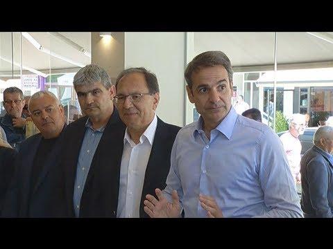 Κ. Μητσοτάκης: Είμαστε η μόνη δύναμη που μπορεί να δώσει λύση στα προβλήματα της Ελλάδας
