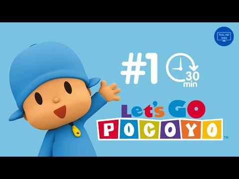 Pocoyo português Brasil - Let's Go Pocoyo! 30 MINUTOS [Episódio 1] em HD