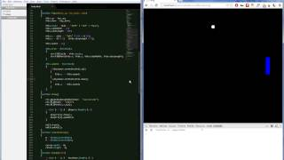 Speed Coding (Javascript) - First Time Making The Game Pong