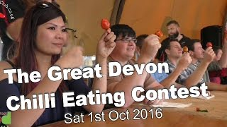 The Great Devon Chilli Eating Contest - Sat 1st Oct