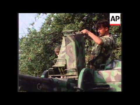 BOSNIA: BIHAC: HEAVY FIGHTING CONTINUES
