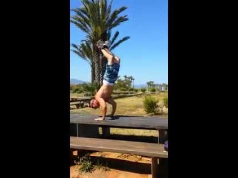 Street workout calistenia El salto del wasy (видео)