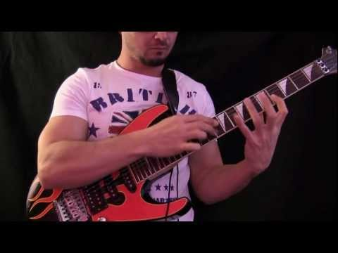BEST Guitar Tapping EVER 4!!! HD Guitar Lesson by L.A