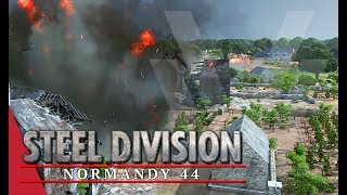 Enjoyed the video? Here's some more! ► https://goo.gl/vHwUWjSteel Division: Normandy 44 Playlist! ► https://goo.gl/uuBRTmYou can now support the channel on Patreon! ► https://www.patreon.com/vulcanhdgaming-----------------------------------------------------------Amfreville Under Siege! Steel Division: Normandy 44 Gameplay (Pegasus Bridge, 3v3)-----------------------------------------------------------Hey guys,Wanted to try and play the 2nd Infantry a bit different in this one but my plans quickly have to change to support my team mate in the town.Deck Used: 2nd InfantryDeck Code: Jh2xcq9ishGw4rHysZGyMbCBsYGxsrKRr7GycrJSsuG4AbNCr6GxArLRsHGzIrERr3GxMa/RvaGxYq+R@AAG9qA==@Contact Me!Twitch: http://www.twitch.tv/vulcanhdgamingTwitter: https://twitter.com/vulcanhdgamingFacebook: https://www.facebook.com/vulcanhdgamingSteam: http://steamcommunity.com/groups/vulcanhdgamingPatreon: https://www.patreon.com/vulcanhdgamingPlayer.me: https://player.me/vulcanhdgamingMusic used: End Game by Per Kiilstoftehttps://machinimasound.com/music/end-gameLicensed under Creative Commons Attribution 4.0 International(http://creativecommons.org/licenses/by/4.0/)