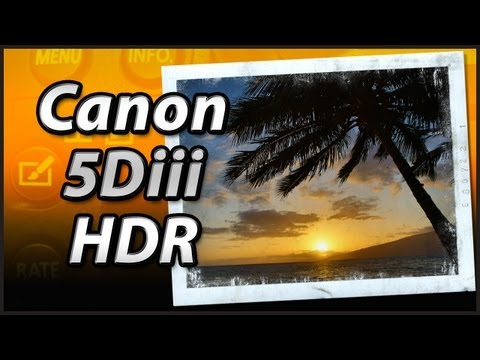 Canon 5Diii HDR Mode – Tutorial Training Video