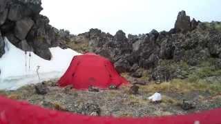 Телескопические палки для походов с рюкзаком Masters SCOUT RED