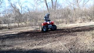 3. POLARIS PREDATOR 50 DONUTS - 2 STROKE POWER !!!