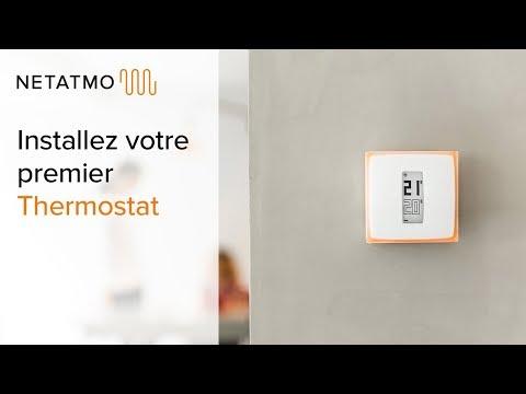 Netatmo Thermostat Connecté Pour Chauffage Individuel, NTH01-FR-EC