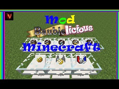 Minecraft | REVIEW DEL MOD BAUBLELICIOUS (AMULETOS MAGICOS)!!! | MC 1.7.10
